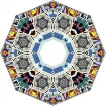 Valentina Roselli, Screen mandala, pulsing digital collages, 2014.
