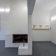 Christine Rebet, Meltingsun, exhibition view