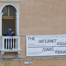 The Internet Saga, Jonas Mekas, curated by Francesco Urbano Ragazzi